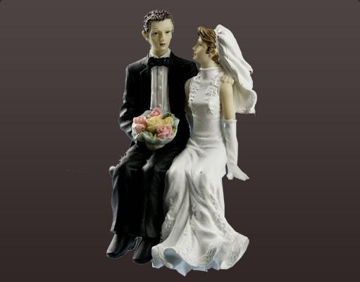 """Brautpaar """"Kantenhocker"""""""