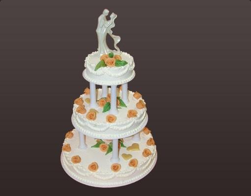 """Hochzeitseistorte """"Etagerie"""""""