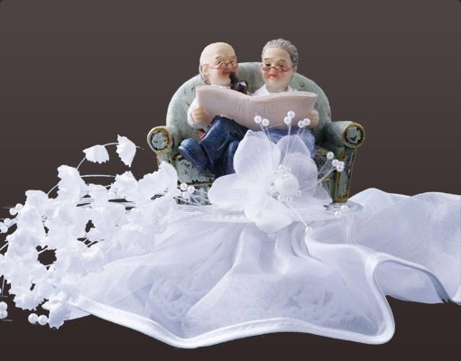 "Brautpaar ""altes Ehepaar"""
