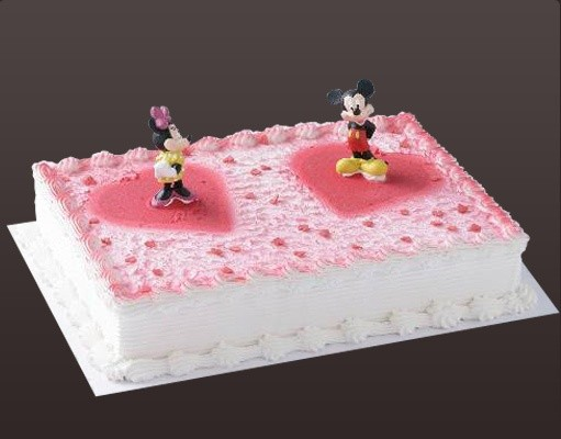 "Motiveistorte ""Micky und Minnie"""